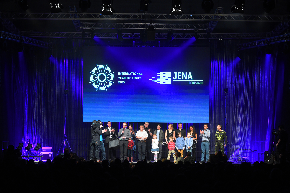 Jahr des Lichts beginnt in Jena